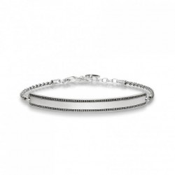 Thomas Sabo LBA0009-643-11 Love Bridge Armband Pavé 19,5 cm