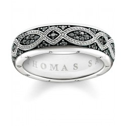 Thomas Sabo TR2087-643-11 Band-Ring Love Knot Sterling-Silber
