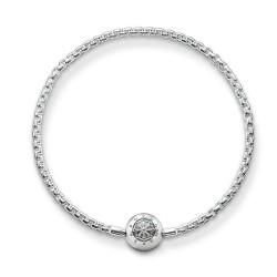 Thomas Sabo KA0001-001-12 Armband Damen für Beads Silber 18 cm