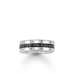 Thomas Sabo TR1944-051 Eternity-Ring Classic Schwarz Gr. 56