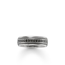 Thomaas Sabo Rebel TR2004-051-11 Ring Eternity Pavé Silber Gr. 56