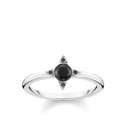 Thomas Sabo TR2268-643-11 Ring Schwarze Steine Silber