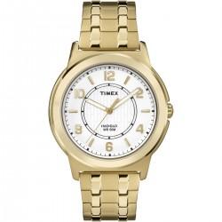 Timex TW2P62000 Herren-Uhr Edelstahl Gold-Ton Ø 40 mm