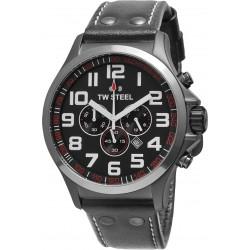TW Steel TW-423 Herren-Uhr Pilot Chronograph Analog Ø 48 mm