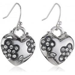 Guess UBE11212 Ohrringe Ohrhänger Damen Metall mit Herz