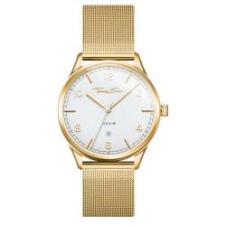 Thomas Sabo WA0340-264-202 Armbanduhr Code TS Edelstahl Gelb-Gold Ø 40 mm