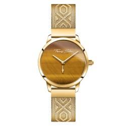 Thomas Sabo WA0364-264-205 Damen-Uhr Garden Spirit Tigerauge Gold