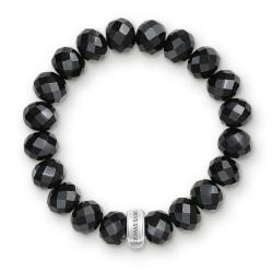 Thomas Sabo X0035-023-11 Charm-Armband Obsidian