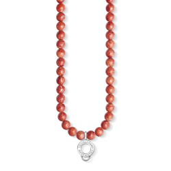 Thomas Sabo X0236-015-10 Charm Club Kette rote Koralle