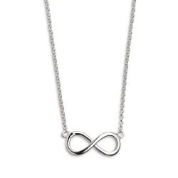 Xenox XS2763 Halskette mit Anhänger Damen Symbolic Power Infinity Silber