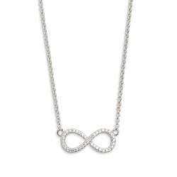 Xenox XS2765 Halskette mit Anhänger Damen Symbolic Power Infinity Silber