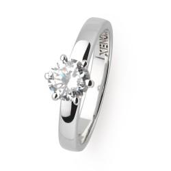 Xenox XS7356 Ring Damen Silver Circle Krappe Zirkonia Silber