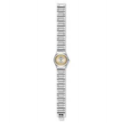 Swatch YSS328G Armbanduhr Golden Ring Analog Quarz mit Edelstahl Armband Ø 25,00 mm