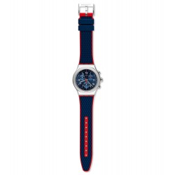 Swatch YVS452 Armbanduhr Secret Operation Analog Quarz Gummi-Band
