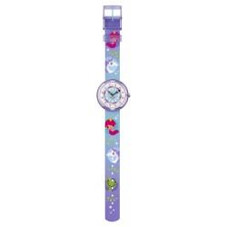 FlikFlak FBNP146 Mädchen-Uhr Unelma Analog Quarz Textil-Armband Ø 31,85 mm