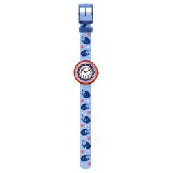 Flik Flak FBNP148 Jungen-Uhr Hedgehugs Analog Quarz Textil-Armband