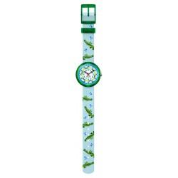 Flik Flak FBNP153 Jungen-Uhr Seaulater Analog Quarz Textil-Armband