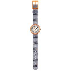Flik Flak FBNP159 Jungen-Uhr Dig It Analog Quarz Textil-Armband