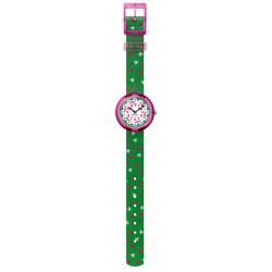 Flik Flak FBNP161 Mädchen-Uhr Heartistic Analog Quarz Textil-Armband