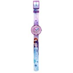Flik Flak FLNP031 Mädchen-Uhr Disney Frozen 2 Analog Quarz Textil-Armband