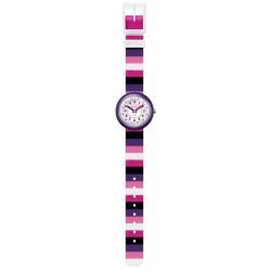 FlikFlak FPNP042 Mädchen-Uhr Color Stripe Up Your Life Quarz Textil
