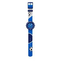 Flik Flak FPSP045 Jungen-Uhr Kick It Analog Quarz Textil-Armband