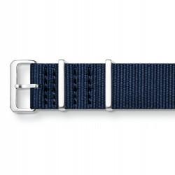 Thomas Sabo ZWA0310-276-1 Ersatzband Uhrenarmband Code TS Nato Dunkelblau 20 mm