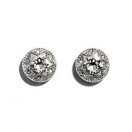 Made with Swarovski Ohrstecker Sterling Silber ST-YHE1748