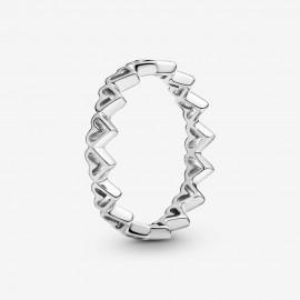 Pandora 198696C00 Ring Damen Freihand-Herzen Sterling-Silber