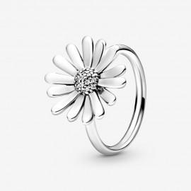 Pandora 198817C01 Ring Damen Pavé Gänseblümchen Silber