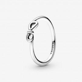 Pandora 198898C00 Ring Damen Unendlichkeitsknoten Silber