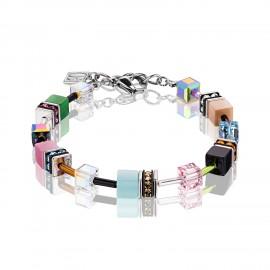 Coeur de Lion 2838/30-1537 Armband GeoCUBE® Swarovski® Kristalle Spring Pastell
