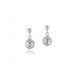 Coeur de Lion 4993/21-1718 Ohrringe Twisted Pearls Edelstahl Silber