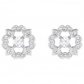 Swarovski 5396227 Ohrringe Sparkling Dance Flower Weiss Silber