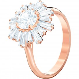 Swarovski Ring Damen Sunshine Weiss Rosé Vergoldung