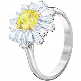 Swarovski Ring Damen Sunshine Gelb Silber-Ton