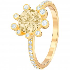 Swarovski Ring Damen Olive Vergoldet