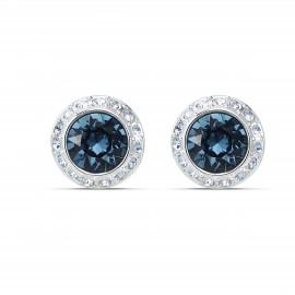 Swarovski 5536770 Ohrstecker Damen Angelic Blau Silber-Ton