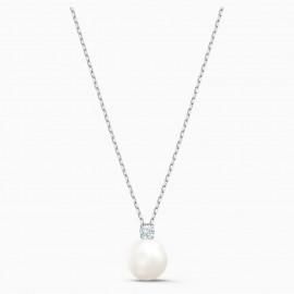 Swarovski 5563288 Halskette mt Anhänger Treasure Pearl Weiss Silber-Ton