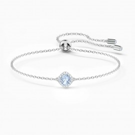 Swarovski 5567933 Armband Damen Angelic Cushion Blau Silber-Ton
