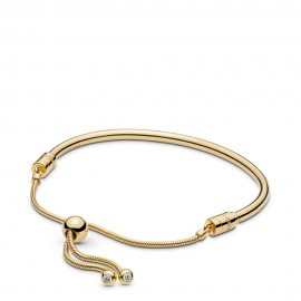 Pandora Shine 567953CZ Armband Moments Sliding Silber-Gold