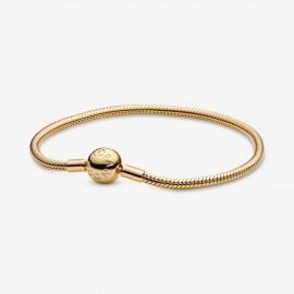 Pandora Shine 568748C00 Schlangen-Gliederarmband Damen 18 K Vergoldet