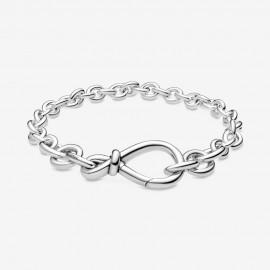 Pandora 598911C00 Gliederarmband Damen Kräftiges Unendlichkeitsknoten