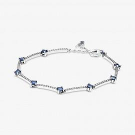 Pandora 599217C01 Armband Damen Funkelnde Pavé-Stäbe Silber