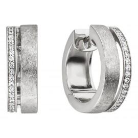 Viventy 782854 Creolen Ohrringe Damen Zirkonia Sterling-Silber