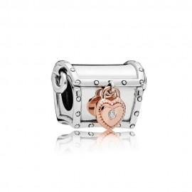 Pandora Rose 787792D Charm Pandora Club 2019 0,01ct Diamant Silber