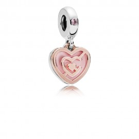 Pandora Rose 787801NBP Charm Path To Love Sterling Silber
