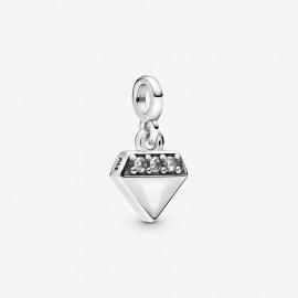 Pandora Me 798368CZ Charm-Anhänger Leuchtender Diamant Silber