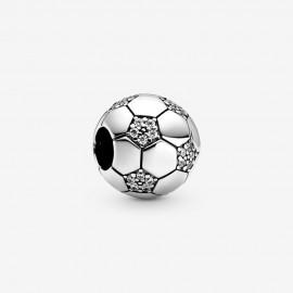 Pandora 798795C01 Charm Funkelnder Fußball Silber