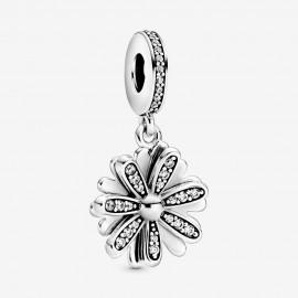Pandora 798813C01 Charm-Anhänger Funkelndes Gänseblümchen Silber